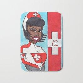 Tactical Rescue Nurse Laura 42 Bath Mat
