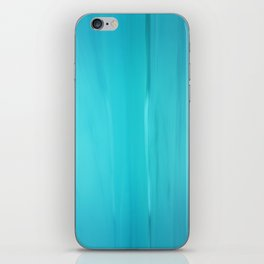 Abstract Turquoise iPhone Skin