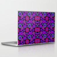olivia joy Laptop & iPad Skins featuring Joy Foulard  by Nina May Designs
