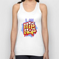hip hop Tank Tops featuring HIP-HOP by DaeSyne Artworks