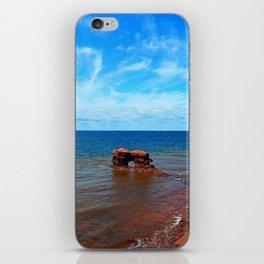 Sandstone holy rock iPhone Skin