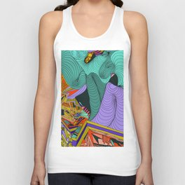 Gently Avoid Unisex Tank Top