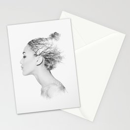 Queen of trees Stationery Cards