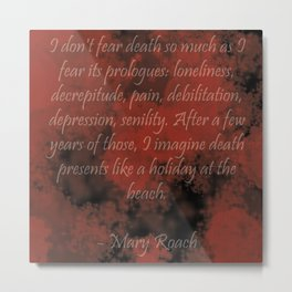 Prologues to Death Metal Print