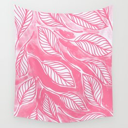 Romantic leaves Wall Tapestry