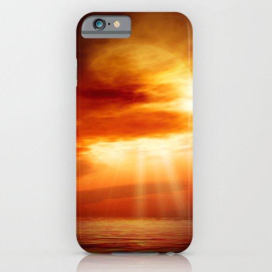 sunrise in the sea iPhone & iPod Case