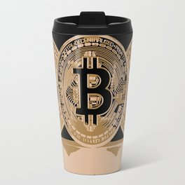 Bitcoin Cryptocurrency Travel Mug