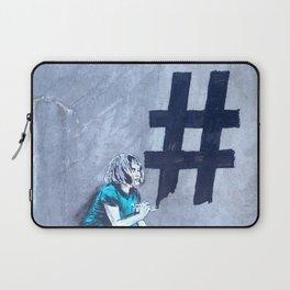 #Hashtag Laptop Sleeve