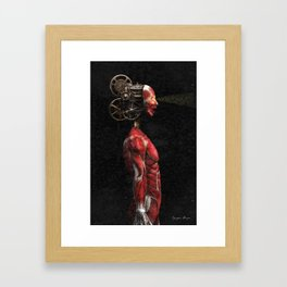 Projecting Framed Art Print