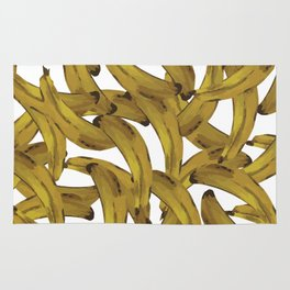 Retro Banana Pop Art Rug