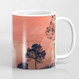 Himalayas Under a Pink Sky Coffee Mug