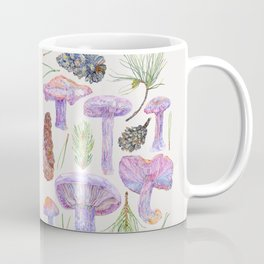 Wood Blewits and Pine - Botanical Coffee Mug