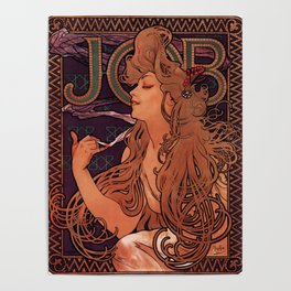 Alphonse Mucha Art Nouveau Poster