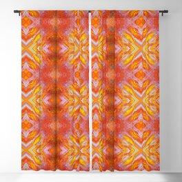 Fall Bonfire (Pattern) Blackout Curtain
