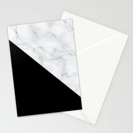 Marble, Stone, Color Block, Minimal Art Stationery Cards