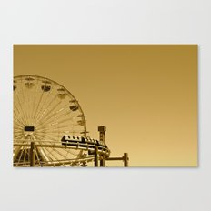 Pier to Peer Canvas Print