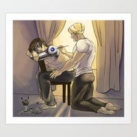 stucky Art Prints featuring Arts and Crafts by barbitone