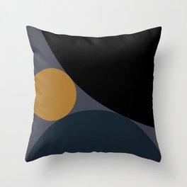 Circular Abstract II Throw Pillow