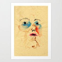 Mum claim Art Print