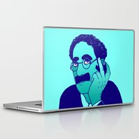 marx Laptop & iPad Skins featuring Groucho by Kramcox