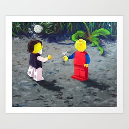 The Give Art Print