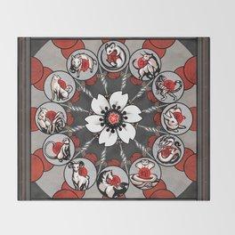 Chinese Zodiac Decke