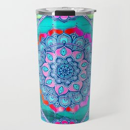 Radiant Boho Color Play Travel Mug