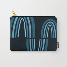 Parabolic Arch Wave 02 - Minimal Geometric Print Carry-All Pouch