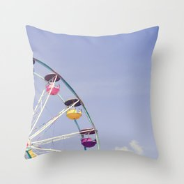 Carefree Summer of Love II Throw Pillow