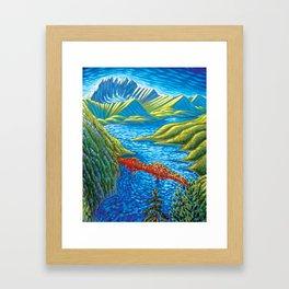 Bridge 2 Framed Art Print