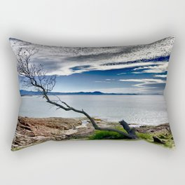 Australian Tree over the Bay at South West Rocks Rectangular Pillow