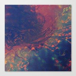 Mixed Feelings Canvas Print