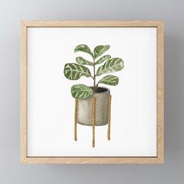 Figgie Smalls Framed Mini Art Print