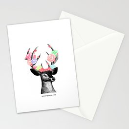 deer mici Stationery Cards