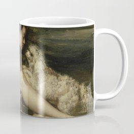 Gustave Courbet - Nude Woman with a Dog Coffee Mug