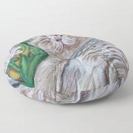 Kitten (A Midsummer Day's Dream) Floor Pillow