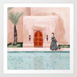Arabian Vibes Art Print