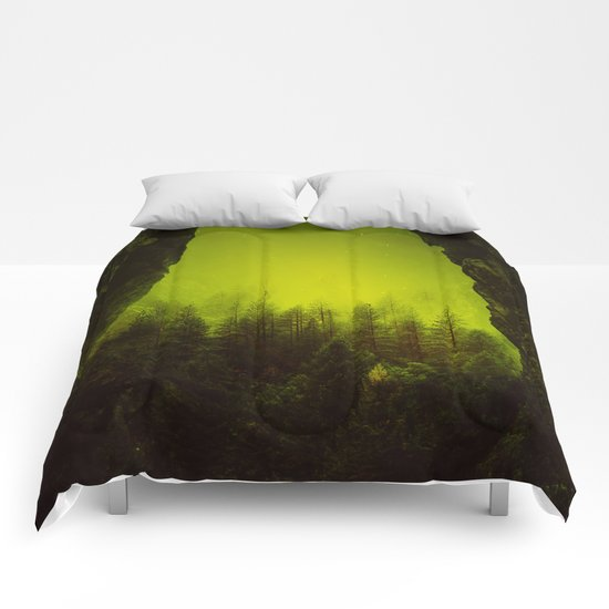 Toxic Forest Comforters