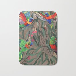 Birds of Paradise. Bath Mat