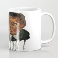 christopher walken Mugs featuring Christopher Walken as Captain Koons by rusto