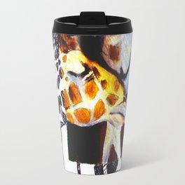 Mother and Child Giraffe Travel Mug