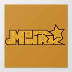 Monark Maze Canvas Print