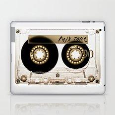 Transparant mix tape Retro Cassette Laptop & iPad Skin