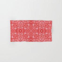Amirah Red Hand & Bath Towel