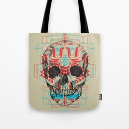 Skull Native Tote Bag