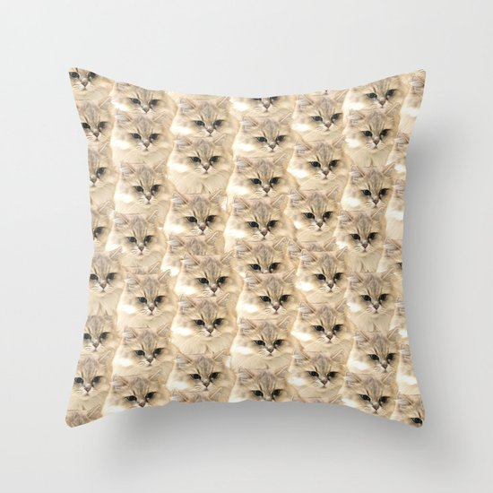 Primary Vision Throw Pillow