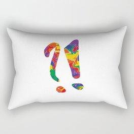 ?! Rectangular Pillow