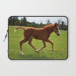Little Running Man (horse) Laptop Sleeve
