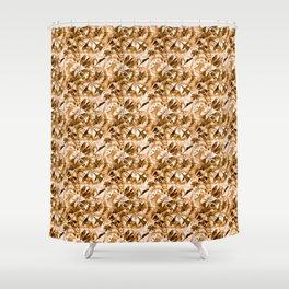 Woman-moth Shower Curtain