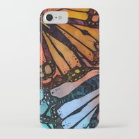 wings iPhone & iPod Cases featuring Wings by S.G. DeCarlo